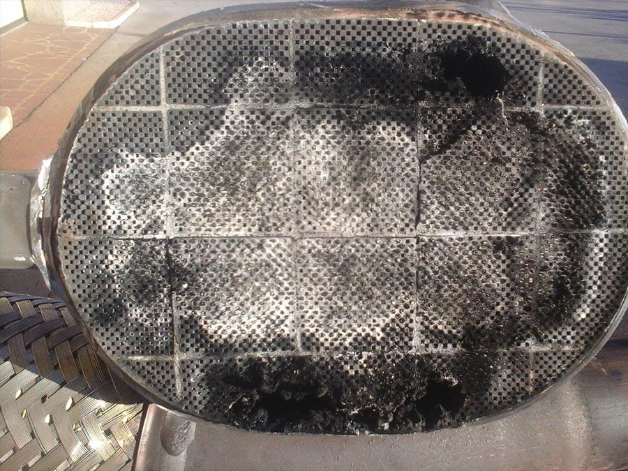 Filter trdih delcev
