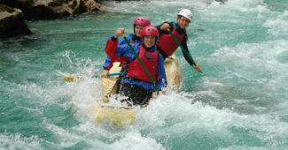 Soca river rafting